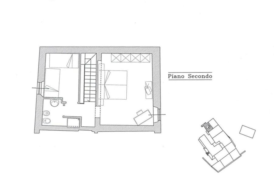 Rustico in vendita, rif. R/139 (Planimetria 2/2)