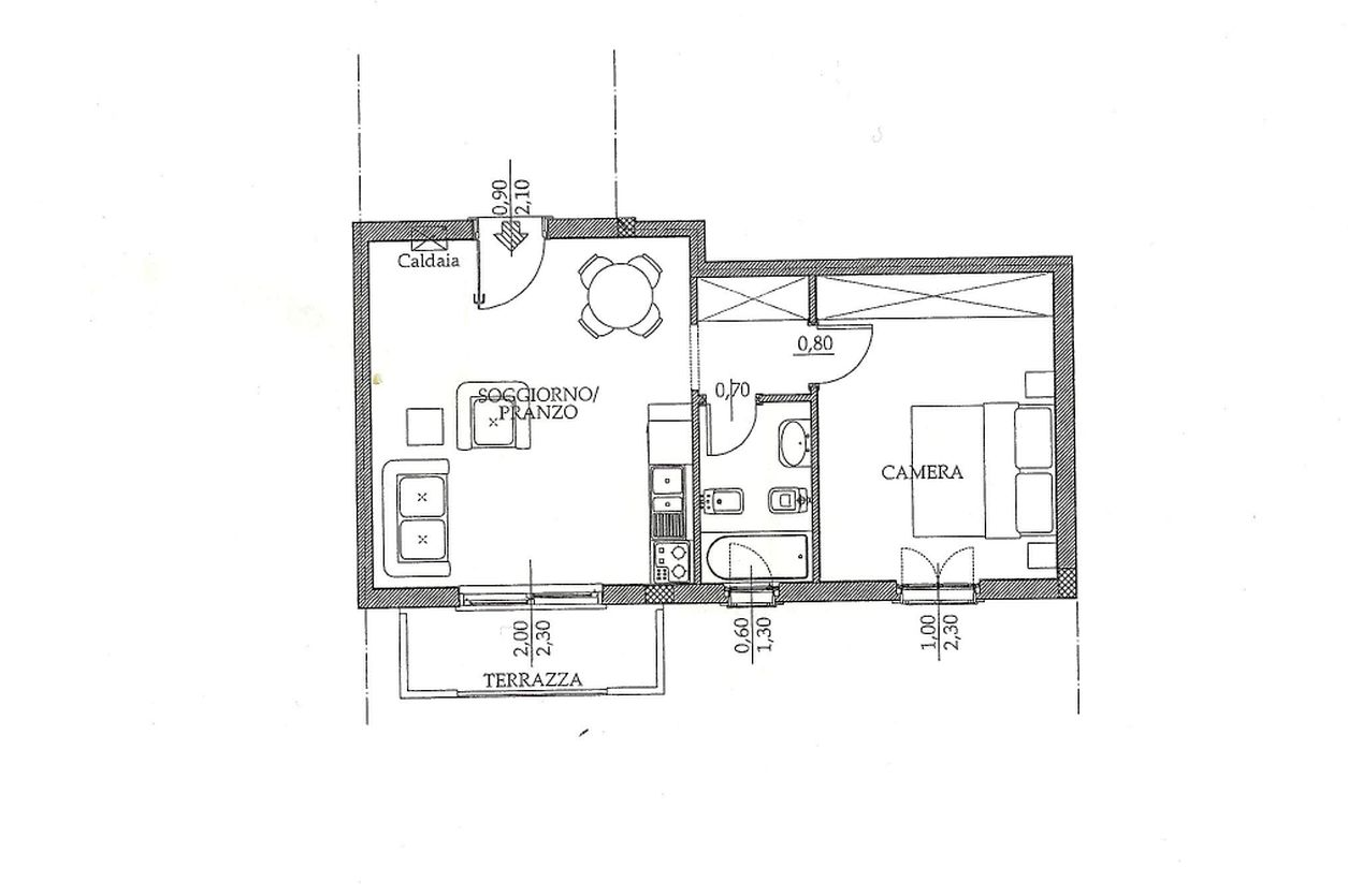 Apartment for sale, ref. R/143 (Plan 1/1)