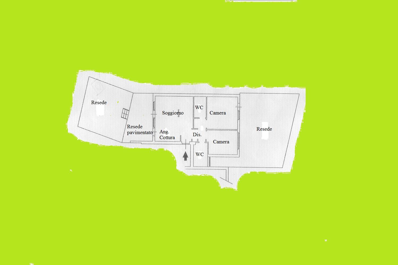 Appartamento in vendita, rif. R/188 (Planimetria 1/1)