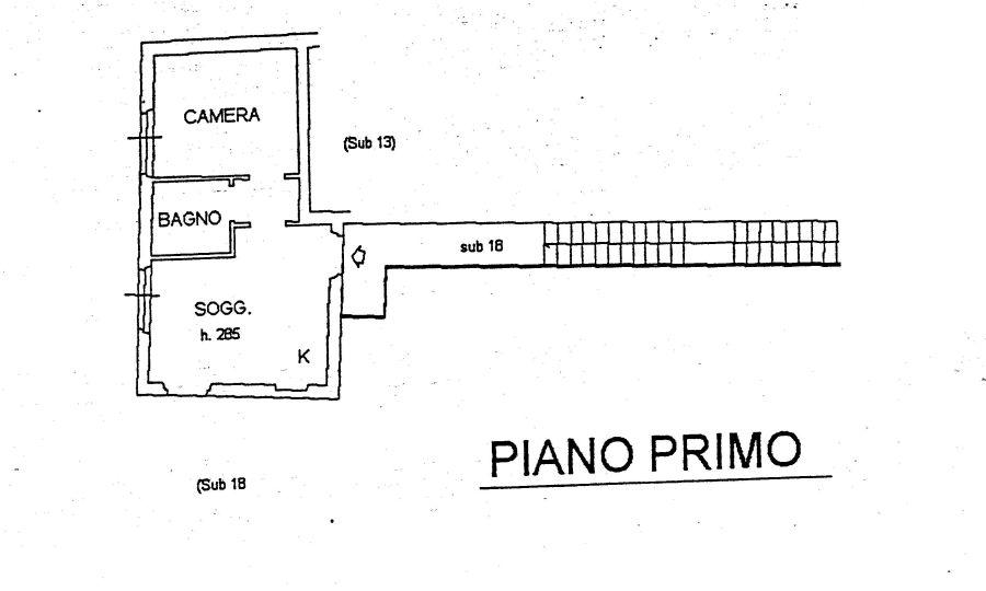 Appartamento in vendita, rif. R/196 (Planimetria 1/1)