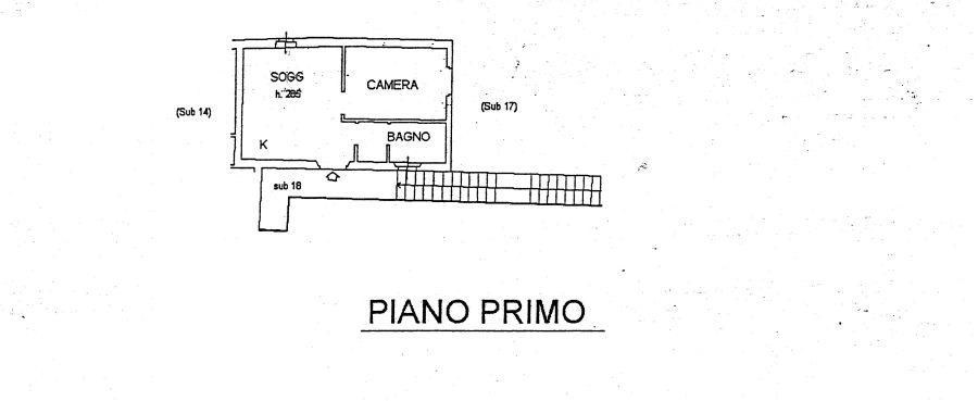 Appartamento in vendita, rif. R/197 (Planimetria 1/1)