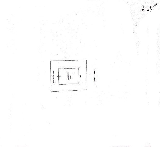Rustico in vendita, rif. R/115 (Planimetria 3/3)