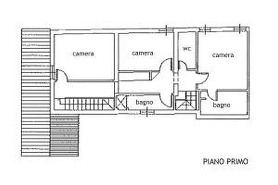 Rustico in vendita, rif. R/216 (Planimetria 1/3)