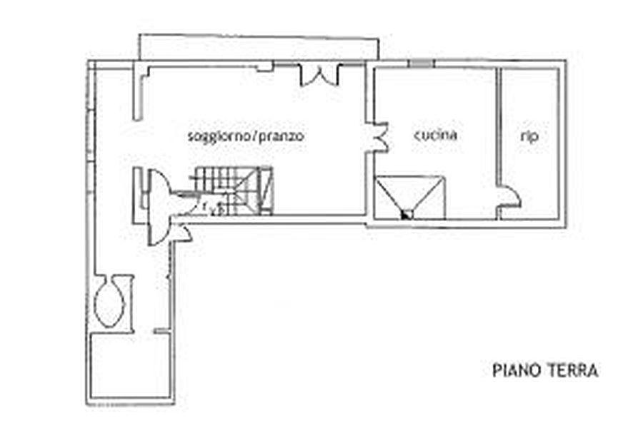 Rustico in vendita, rif. R/216 (Planimetria 3/3)