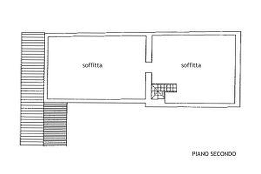 Rustico in vendita, rif. R/216 (Planimetria 2/3)