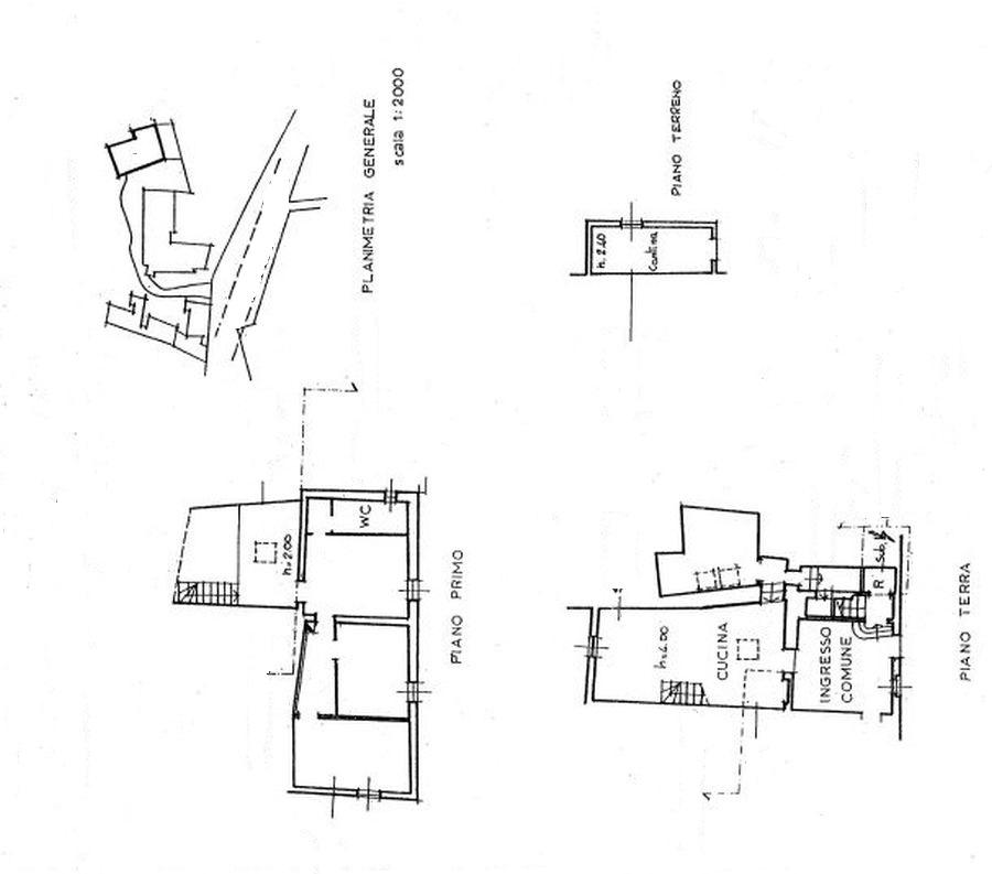Appartamento in vendita, rif. R/242 (Planimetria 1/1)