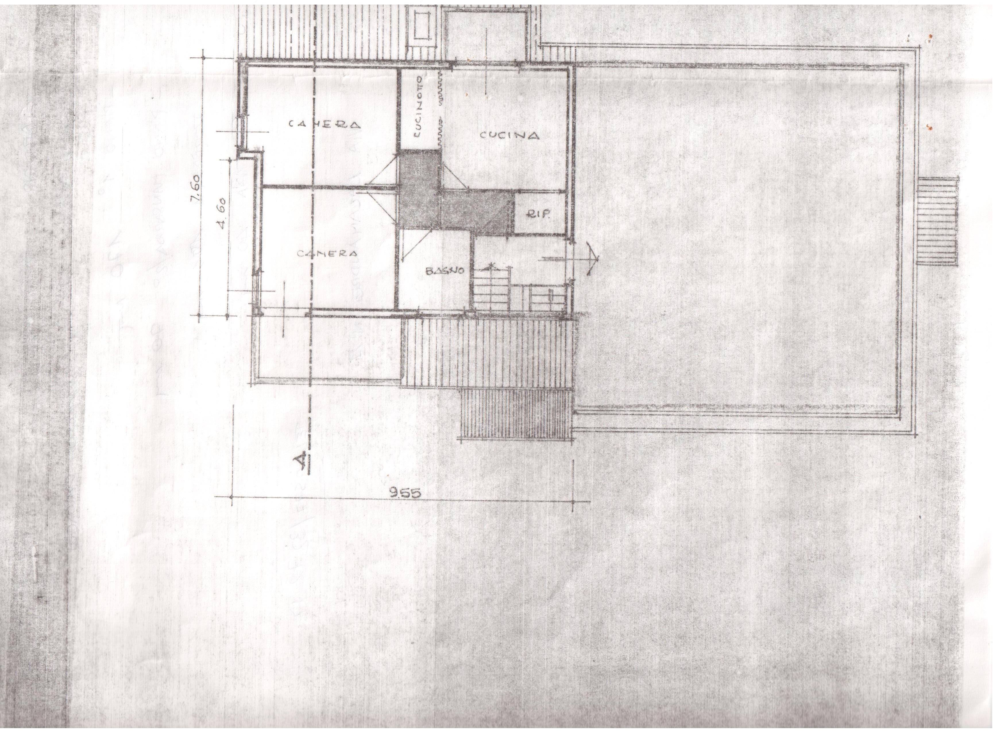 Villetta a schiera in vendita, rif. R/252 (Planimetria 1/1)
