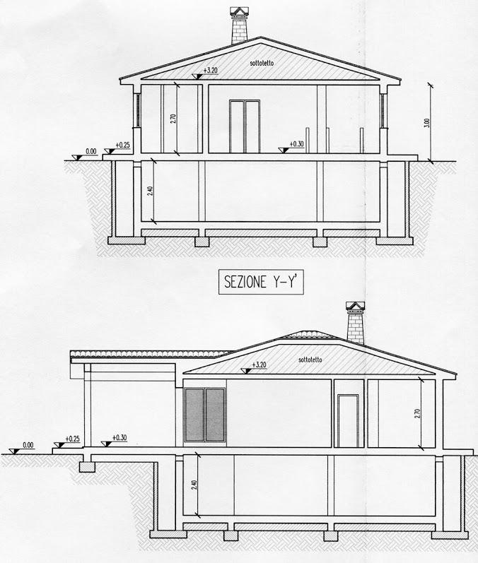 Appartamento in vendita, rif. R/282 (Planimetria 3/3)