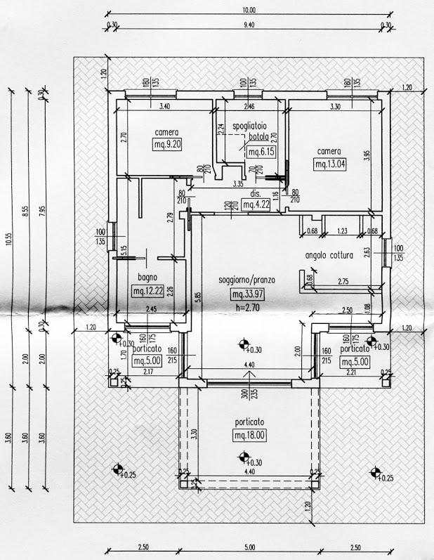 Appartamento in vendita, rif. R/282 (Planimetria 1/3)