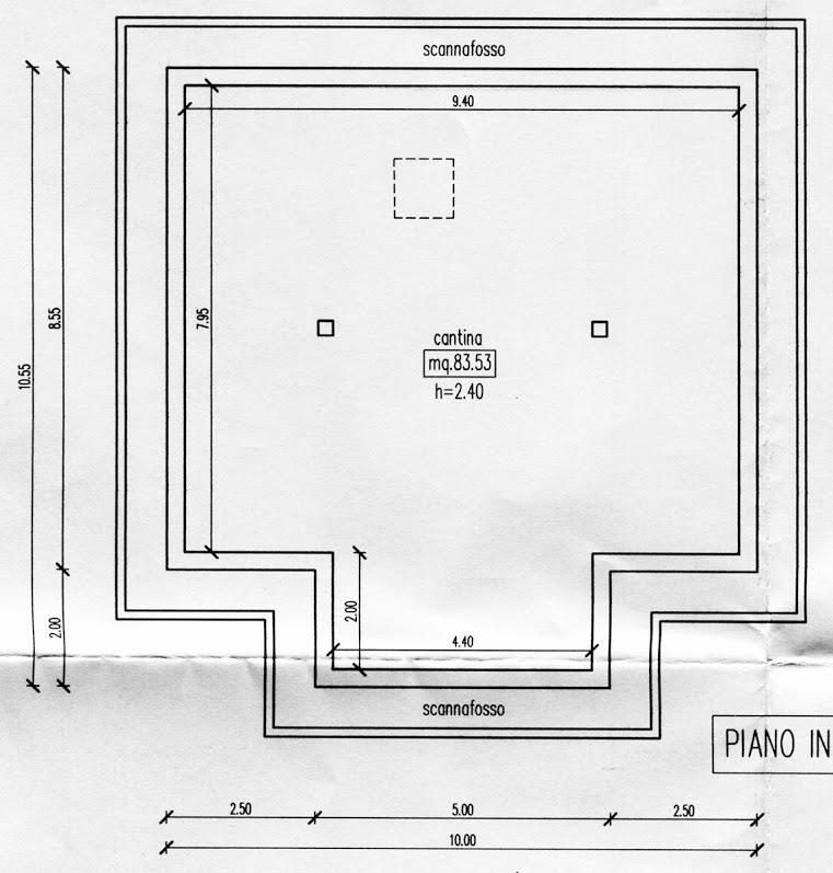 Appartamento in vendita, rif. R/282 (Planimetria 2/3)
