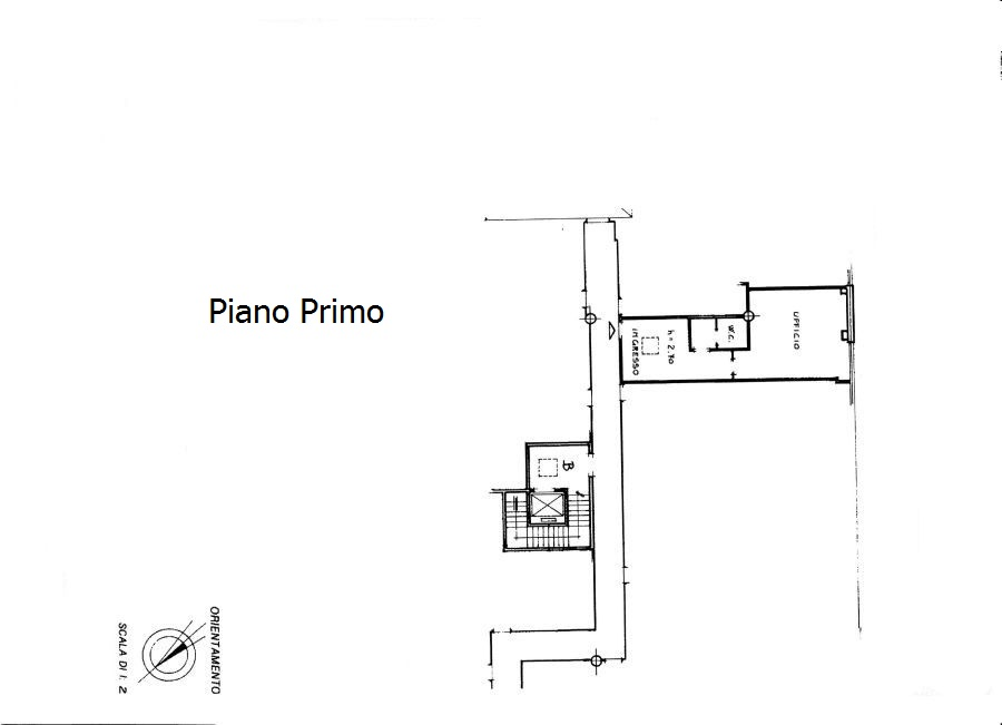 Office for sale, ref. C/26 (Plan 1/1)