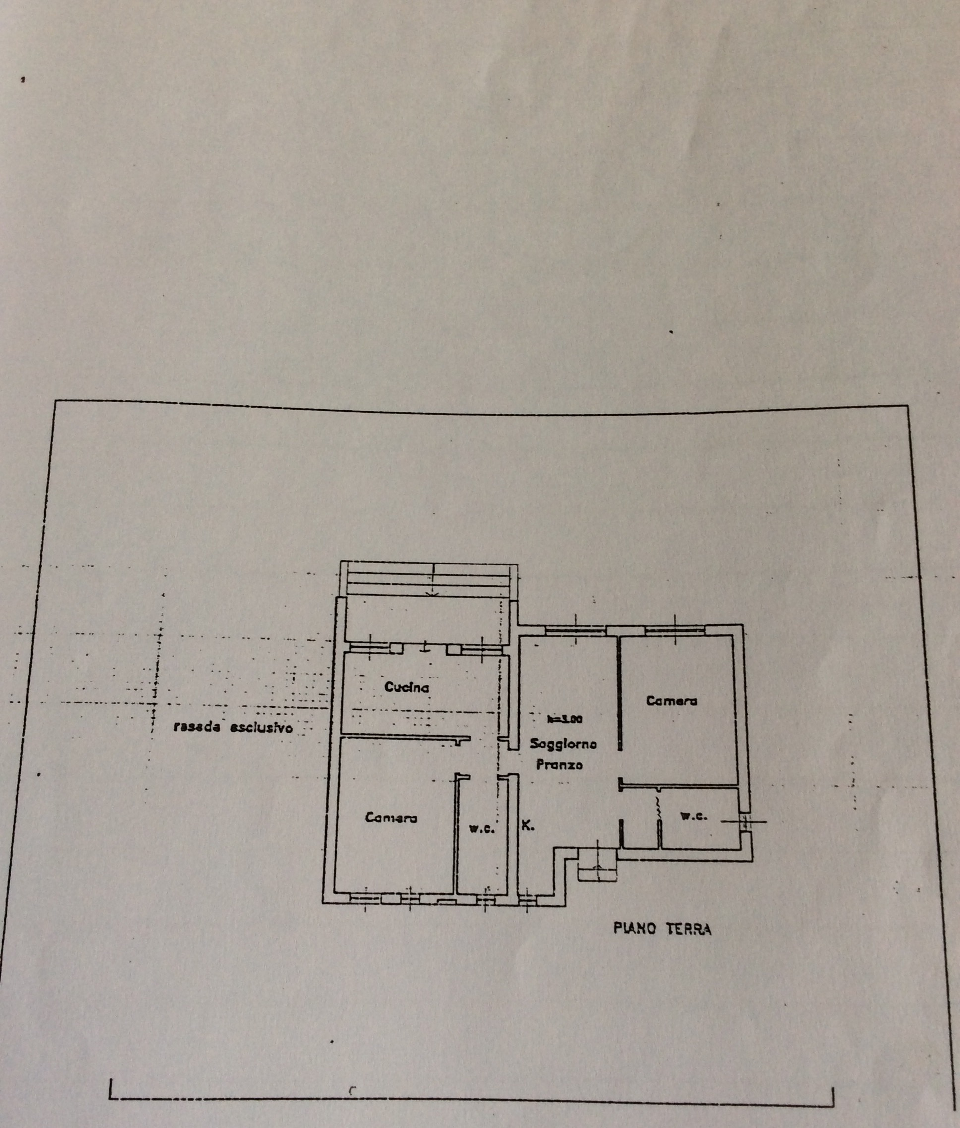 Single-family house for sale, ref. R/291 (Plan 1/1)