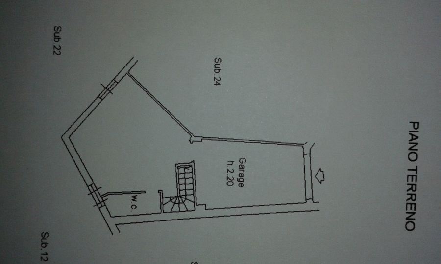Appartamento in vendita, rif. R/307 (Planimetria 2/2)