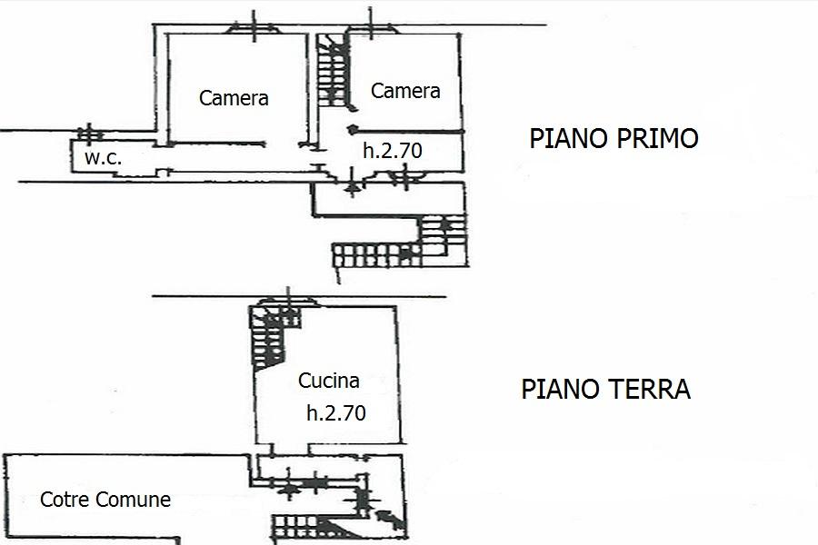 Appartamento in vendita, rif. R/348 (Planimetria 1/1)