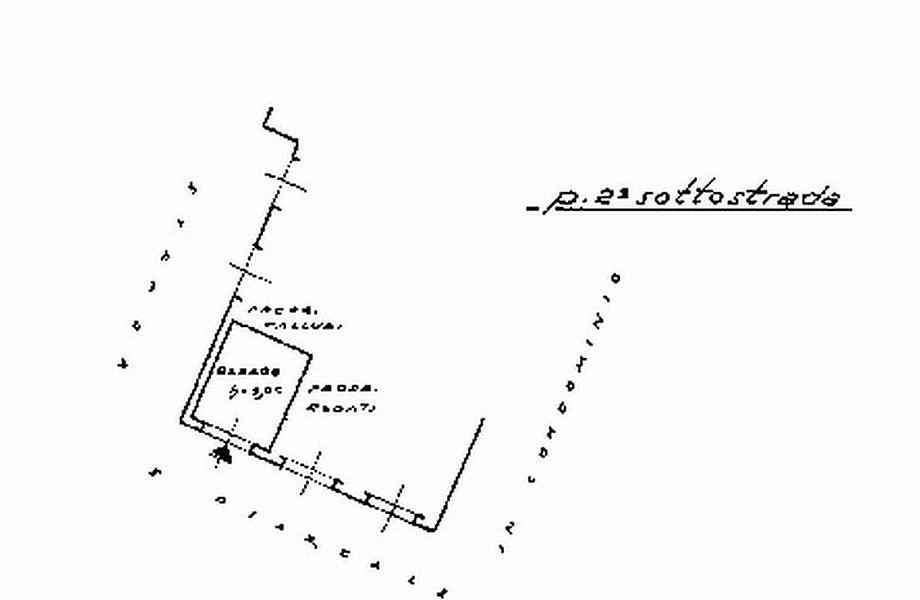 Appartamento in vendita, rif. R/379 (Planimetria 2/2)
