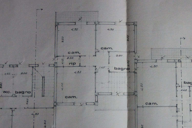 Appartamento in vendita, rif. R/400 (Planimetria 2/2)