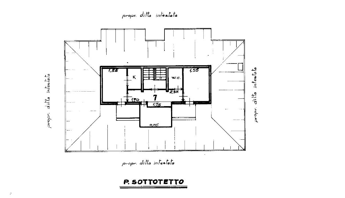 Appartamento in vendita, rif. R/298 (Planimetria 1/1)