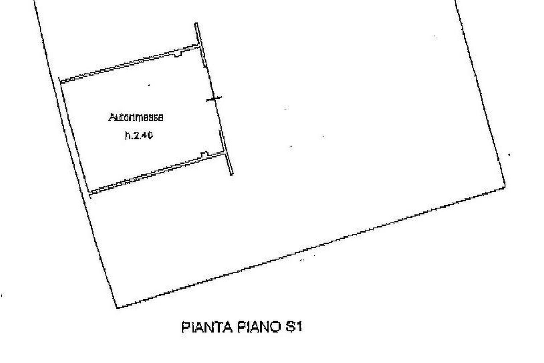Appartamento in vendita, rif. R/447 (Planimetria 2/2)