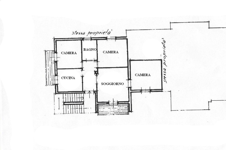 Appartamento in vendita, rif. R/453 (Planimetria 1/2)
