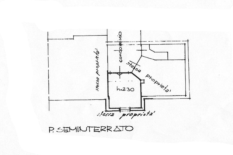 Appartamento in vendita, rif. R/453 (Planimetria 2/2)