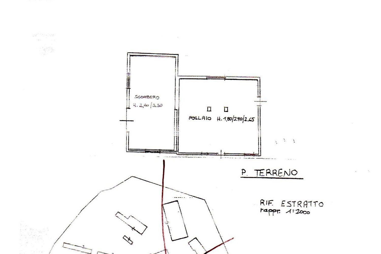 Rustico in vendita, rif. R/458 (Planimetria 4/4)