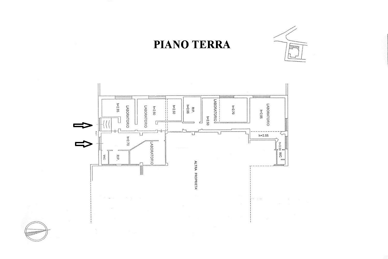 Laboratorio in vendita, rif. C/34 (Planimetria 1/1)