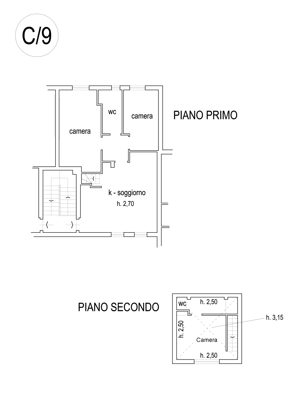 Apartment for sale, ref. R/482 (Plan 2/2)