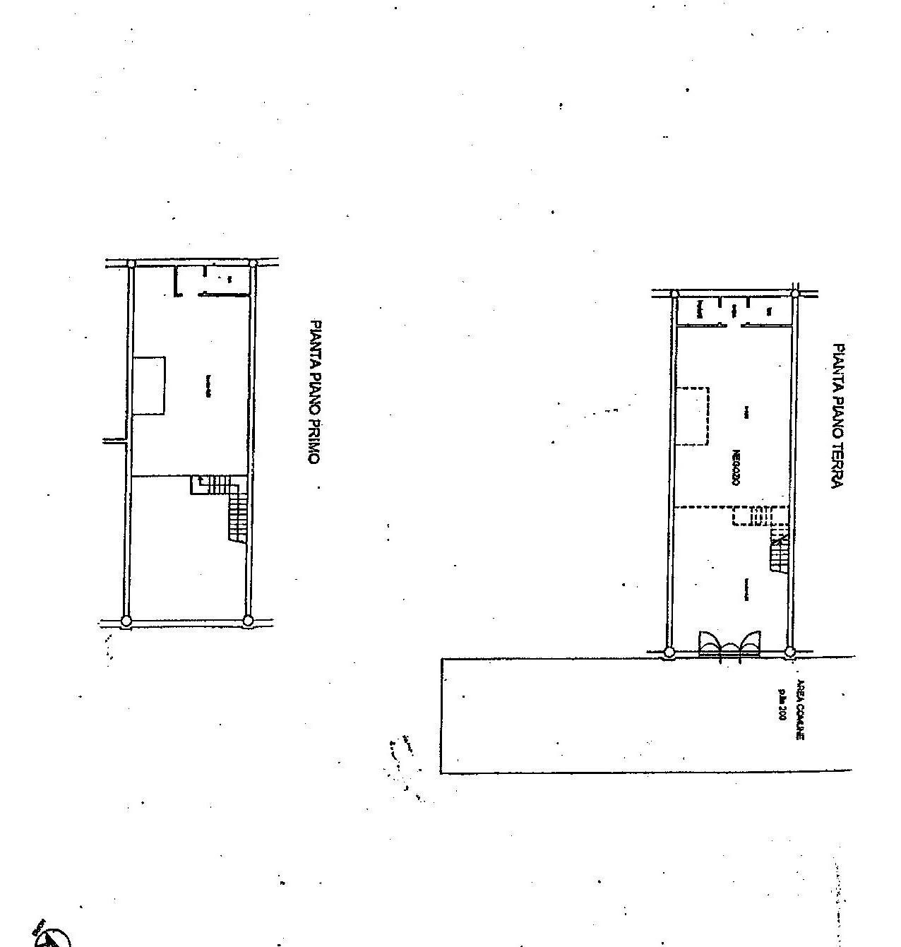 Locale comm.le/Fondo in vendita, rif. C/43 (Planimetria 1/1)