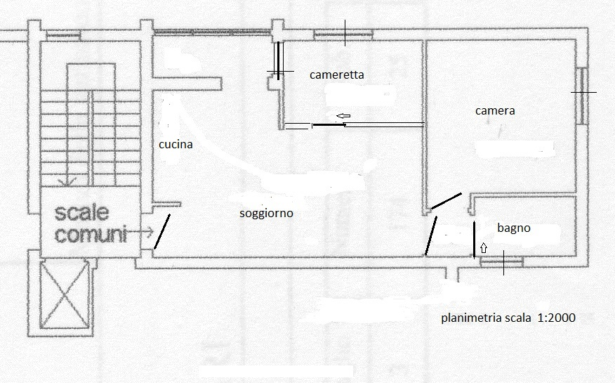 Apartment for sale, ref. R/438 (Plan 2/2)
