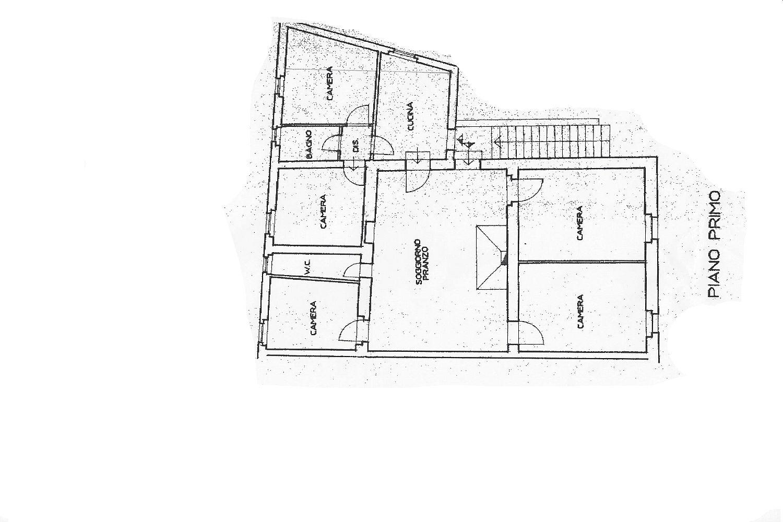 Rustico in vendita, rif. R/498 (Planimetria 1/2)