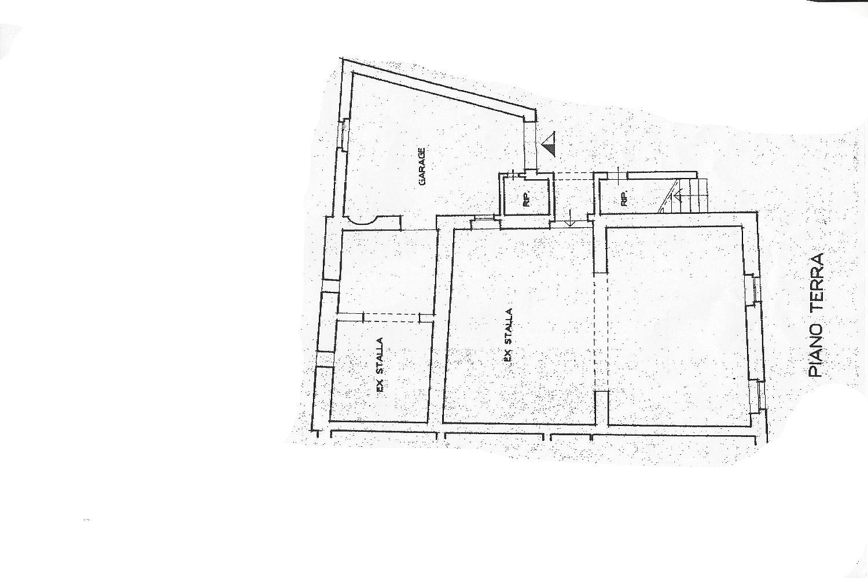 Rustico in vendita, rif. R/498 (Planimetria 2/2)