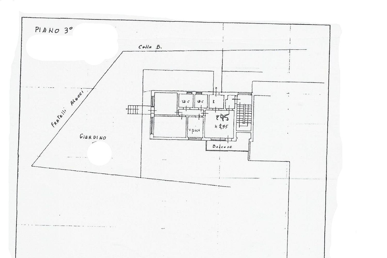 Appartamento in vendita, rif. R/503 (Planimetria 1/1)