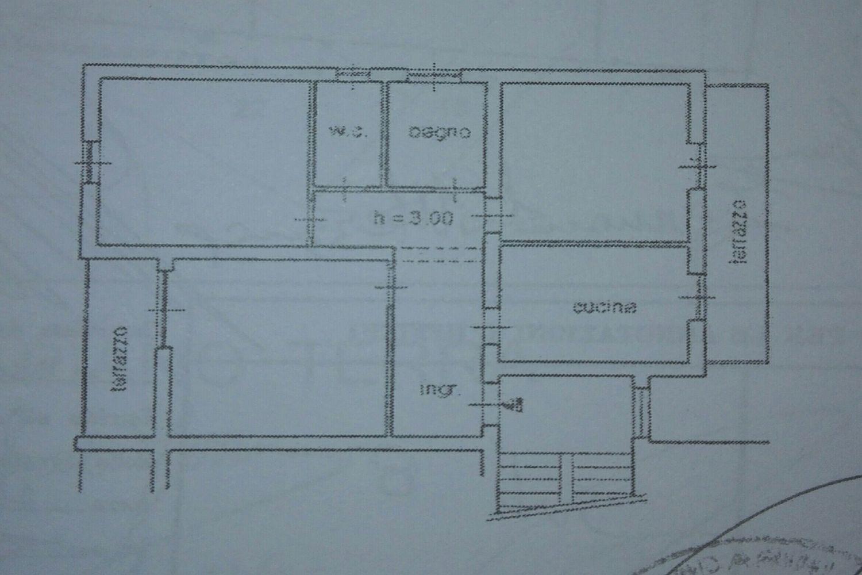 Appartamento in vendita, rif. R/504 (Planimetria 1/1)