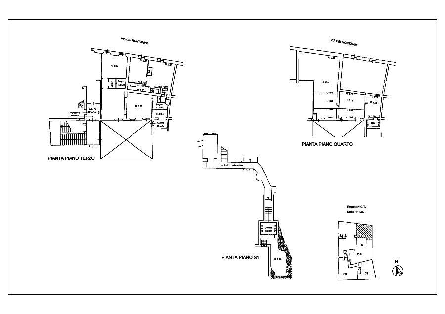 Appartamento in affitto, rif. R/602 (Planimetria 1/1)