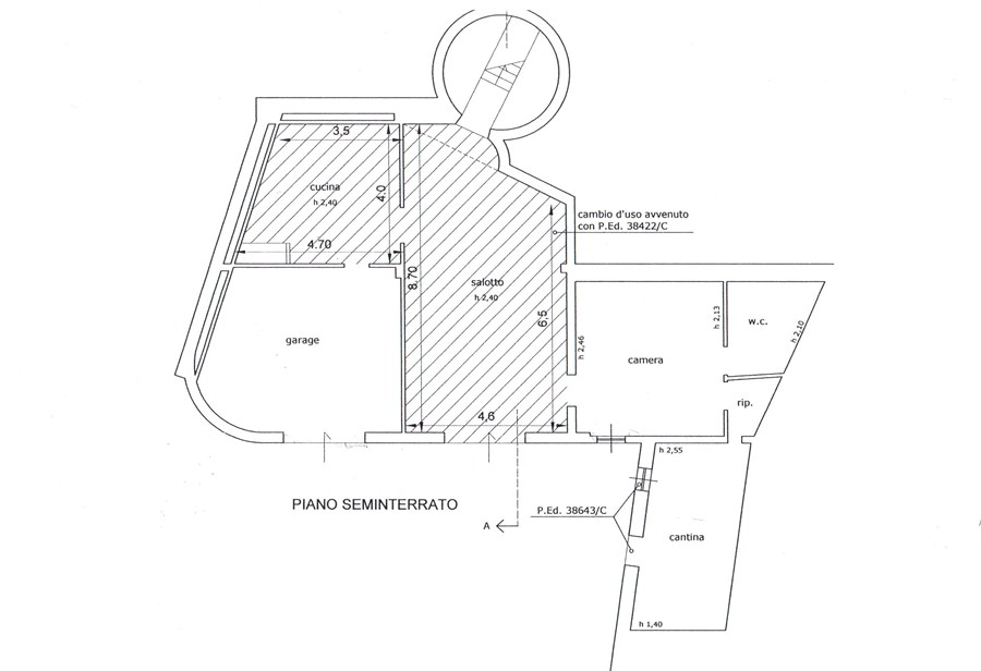 Townhouses for sale, ref. R/46 (Plan 2/3)