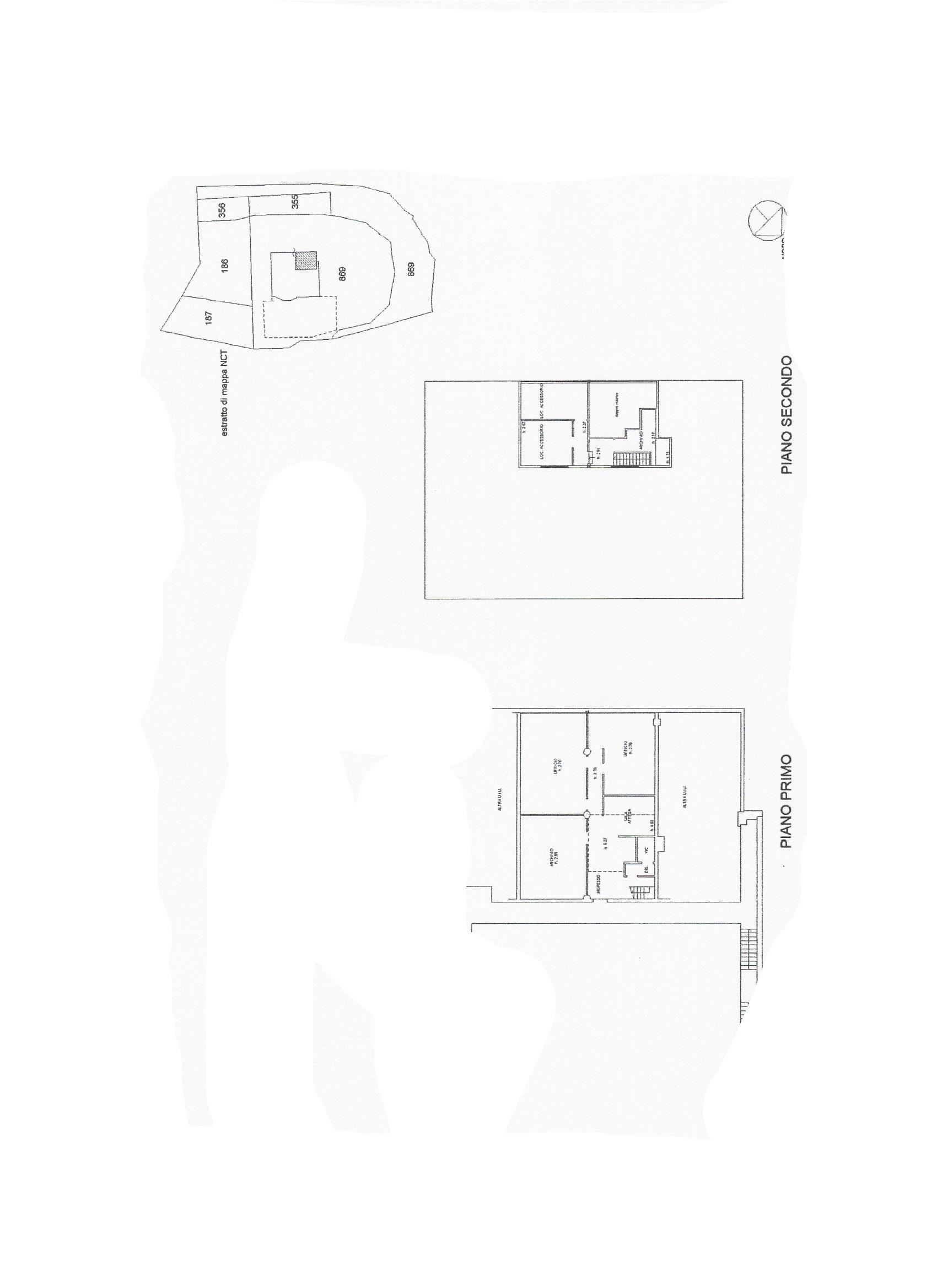 Ufficio in affitto commerciale, rif. C/49 (Planimetria 1/1)