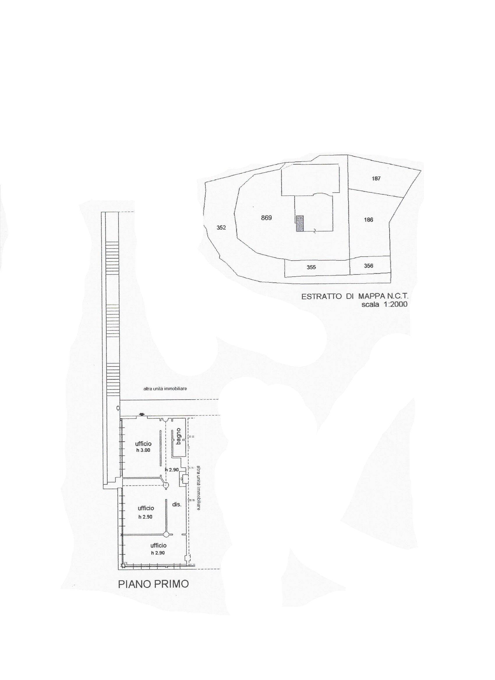 Ufficio in affitto commerciale, rif. C/48 (Planimetria 1/1)