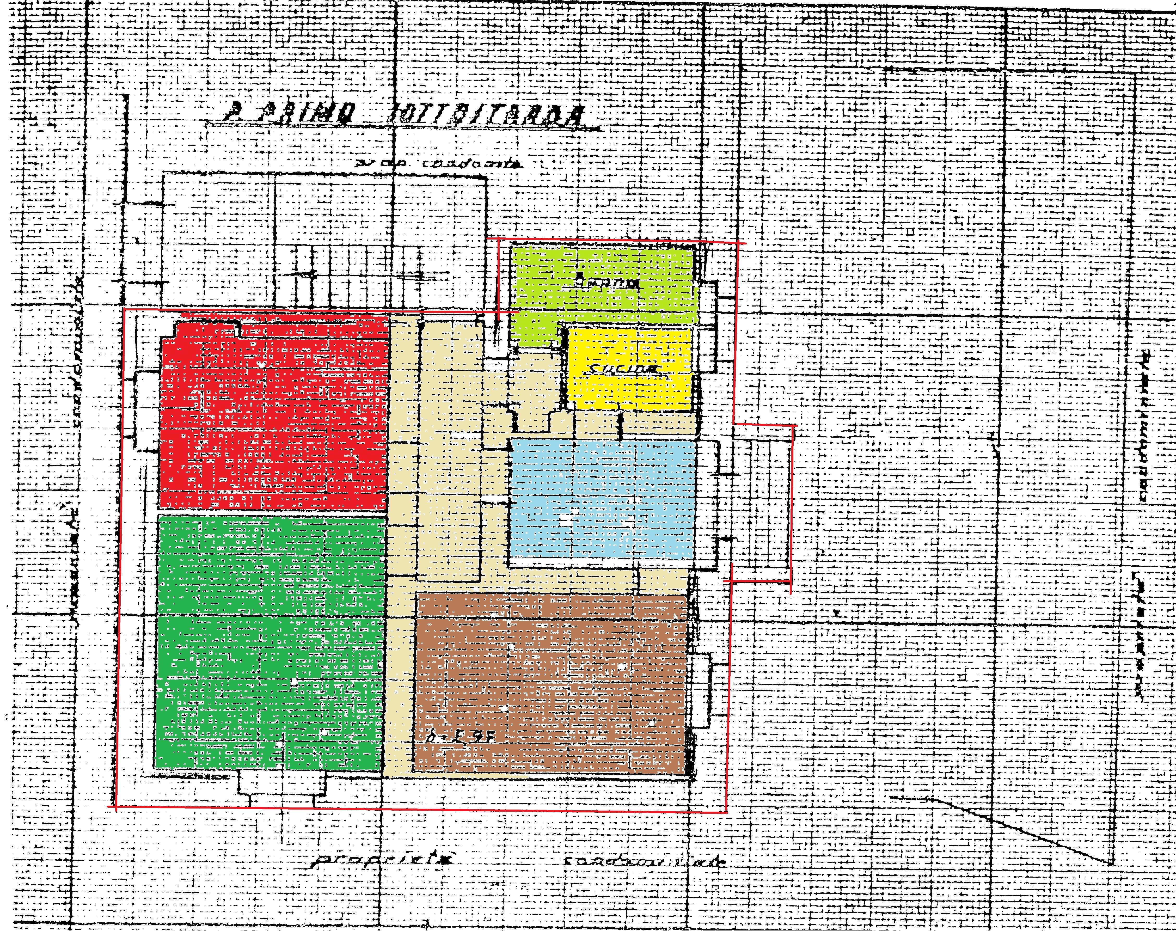 Appartamento in vendita, rif. R529 (Planimetria 1/1)