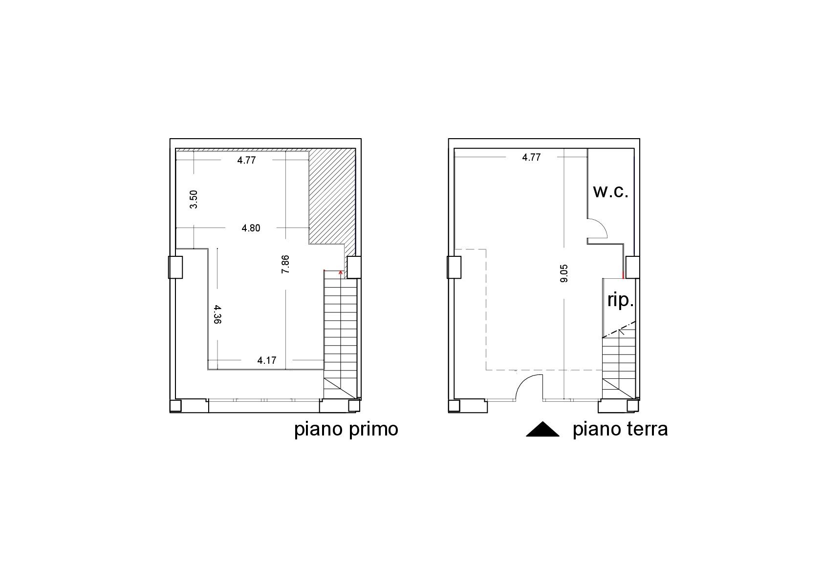 Ufficio in affitto commerciale, rif. C/30 (Planimetria 1/1)