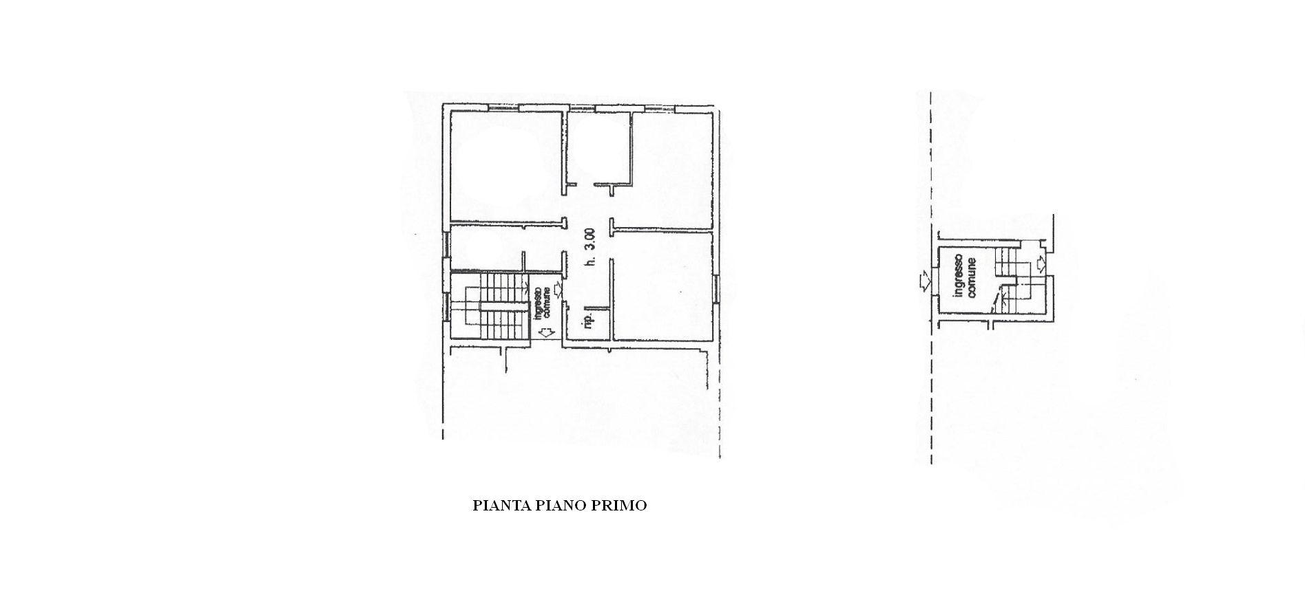 Appartamento in affitto, rif. R/539 (Planimetria 1/1)