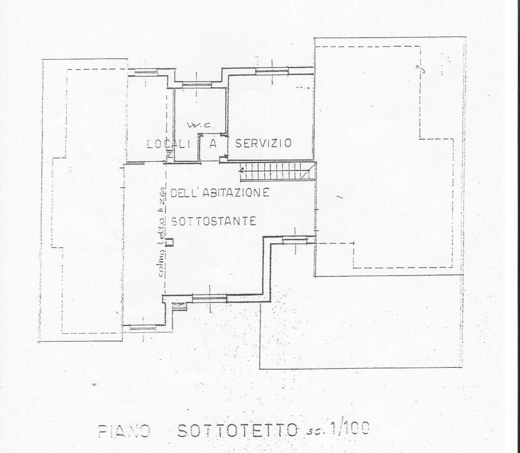 Villetta bifamiliare in vendita, rif. R/542 (Planimetria 1/2)