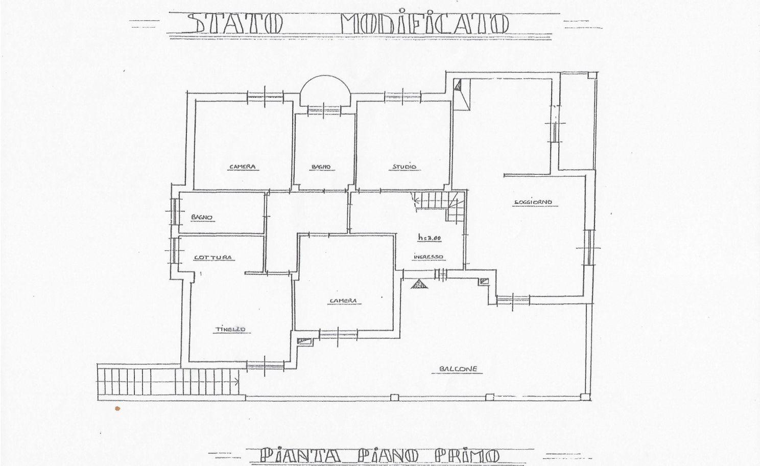 Villetta bifamiliare in vendita, rif. R/542 (Planimetria 2/2)