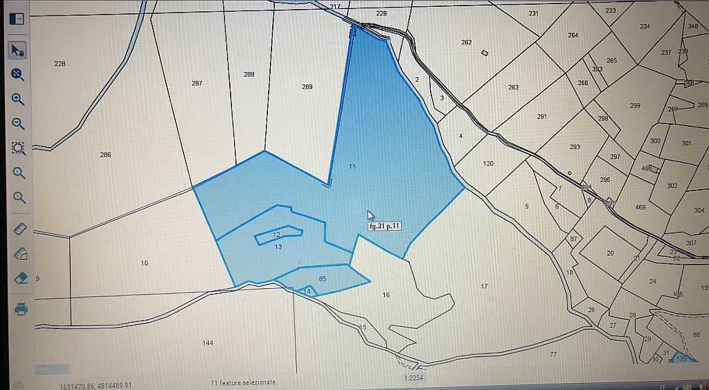 Agricultural plot for sale, ref. T/3 (Plan 2/2)