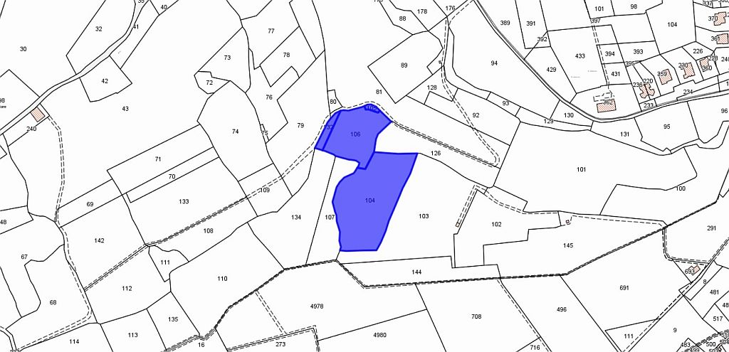 Agricultural plot for sale, ref. T/5 (Plan 1/1)