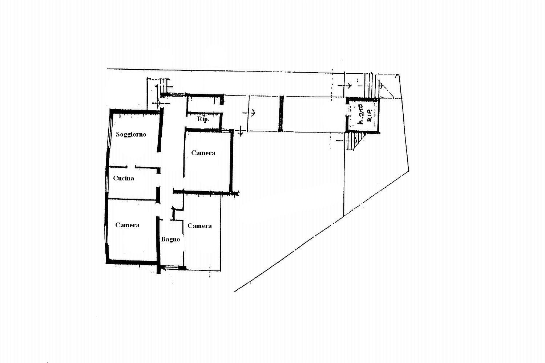 Villa singola in vendita, rif. R/414 (Planimetria 2/3)