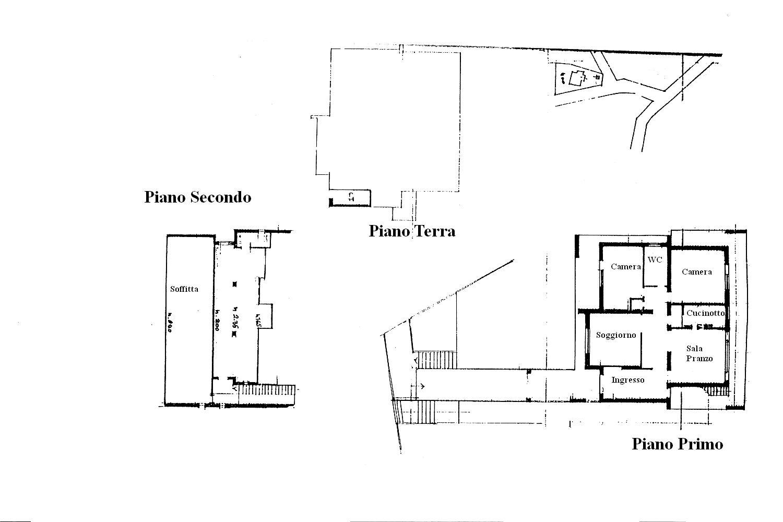 Villa singola in vendita, rif. R/414 (Planimetria 1/3)