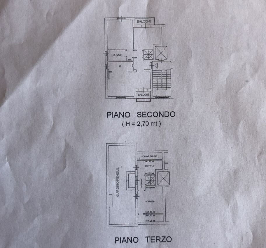 Appartamento in vendita, rif. R/544 (Planimetria 1/1)