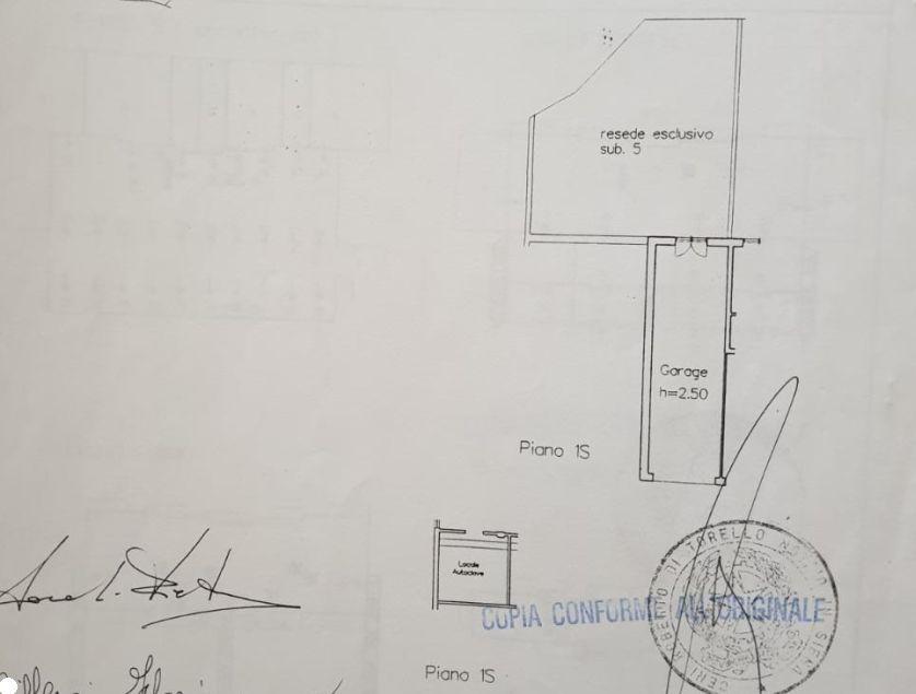 Appartamento in vendita, rif. R/549 (Planimetria 2/2)