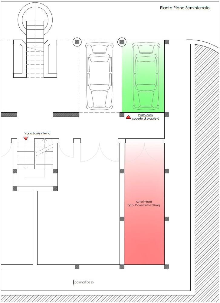 Appartamento in vendita, rif. R/553 (Planimetria 3/6)