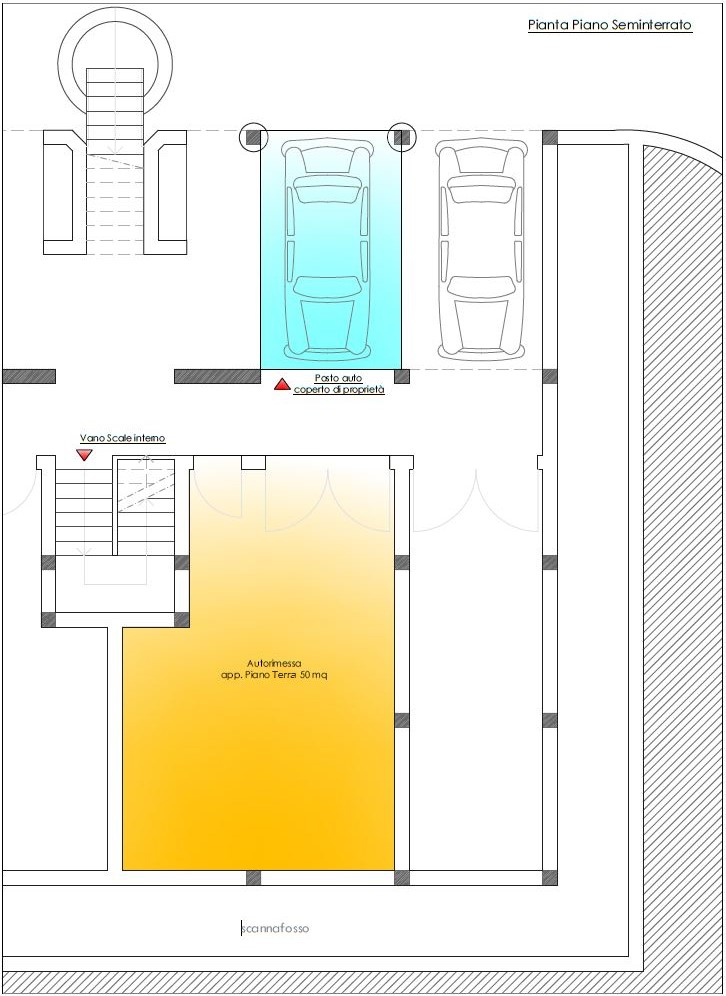 Appartamento in vendita, rif. R/553 (Planimetria 4/6)